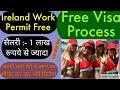 How to Apply Ireland work permit 2019    best way to get Ireland work visa     By Easy Entry