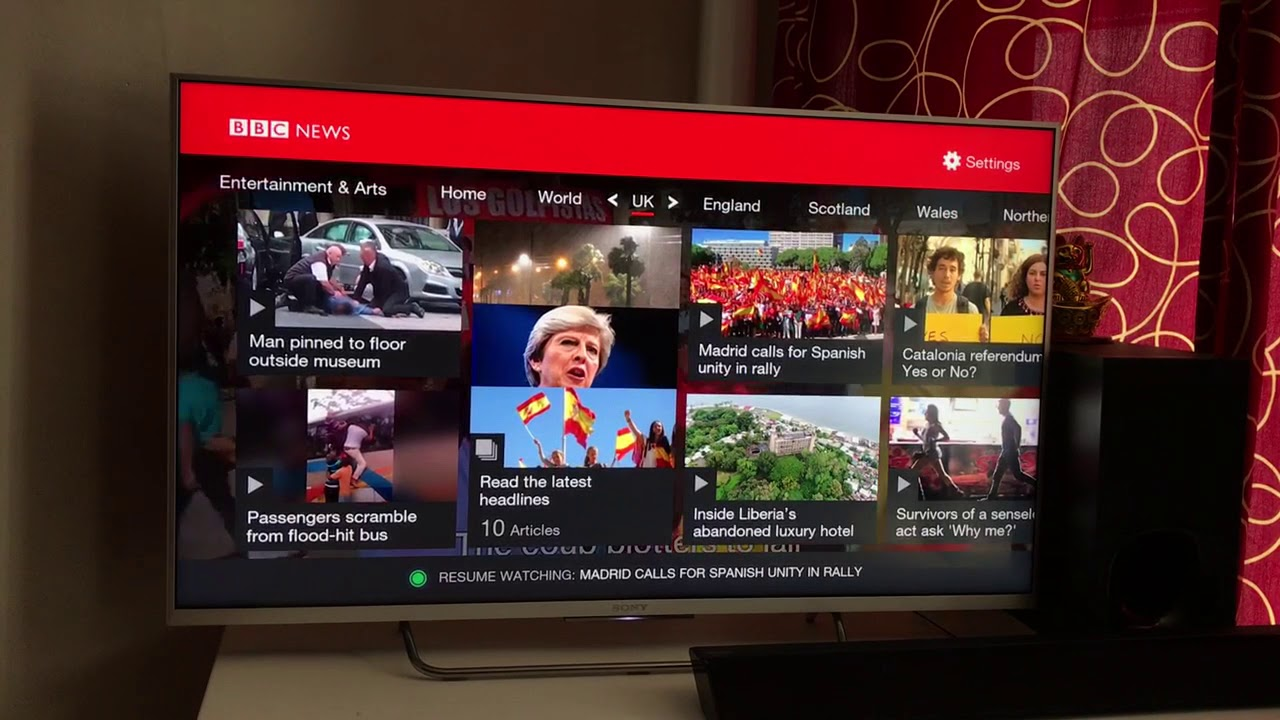 BBC News iPlayer App Review ✔️ BBC iPlayer ✔️ BBC News iPlayer app for  smart tv   Sony Android TV