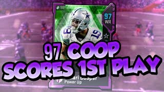 Madden 19 Ultimate Team :: 97 Amari Cooper Scores 1st Play of the Game :: Madden 19 Ultimate Team