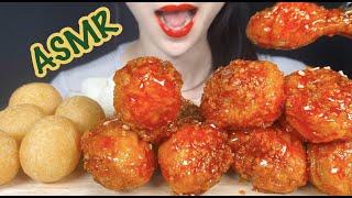 ASMR BBQ시크릿양념치킨 닭다리 먹방,KOREAN …
