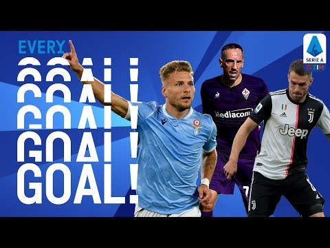 Ramsey Scores on Serie A Debut! | EVERY Goal Round 4 | Serie A