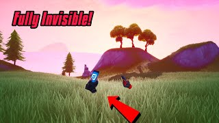 Become Fully Invisible In Fortnite (100% working) Fortnite Glitches Season 8 Ps4/Xbox one