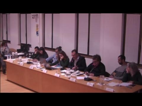 Consell Ciutadà i Consell Plenari del districte de Ciutat Vella 28/11/2017