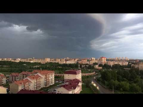 Грозовые тучи над городом Киров
