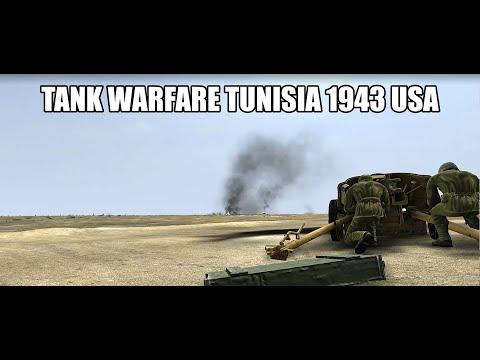 Tank Warfare Tunisia 1943 USA WAR-11 |