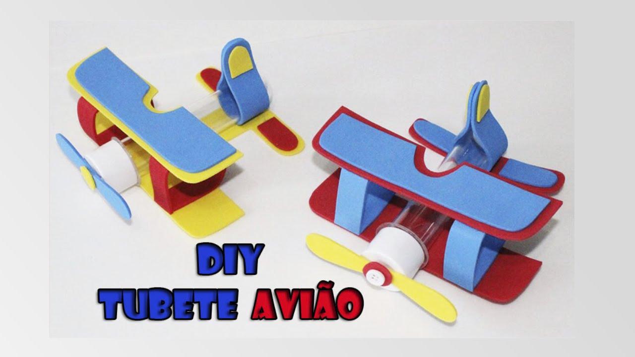 Moldes De Aviao Para Imprimir: DIY Crafts: Tubete Avião Para Lembrancinha Do Pequeno