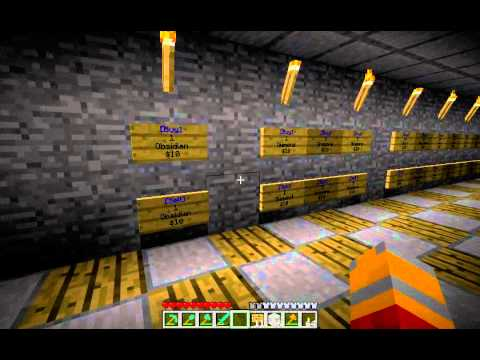 how to build a minecraft shop