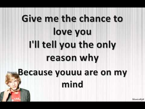 on my mind Cody Simpson Lyrics on description+screen