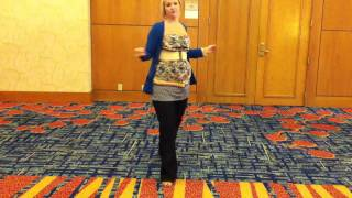 California King Line Dance Debbie McLaughlin Walkthru