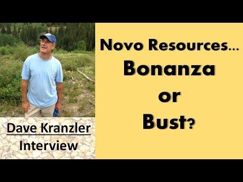 Dave Kranzler   Novo Resources...Bonanza Or Bust?