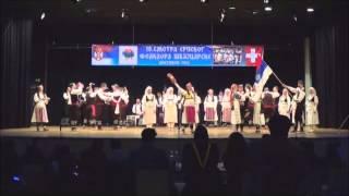 FMD Kolo Neuhausen - Svadbeni obicaji iz sela Koretiste - Svajcarska Smotra 2014