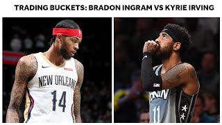 Gambar cover Brandon Ingram (40-Point Career-High) vs. Kyrie Irving (39 Points) Go To Battle In Brooklyn