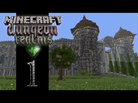 Minecraft Dungeon Realms - EP01 - Our Adventure Begins!