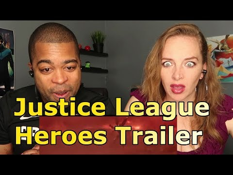 Thumbnail: Justice League Heroes Trailer (REACTION 🔥)