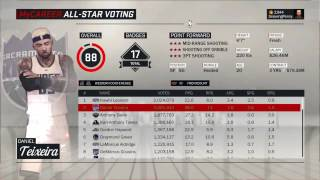 NBA 2K17/18 Career how to see your all time stats!