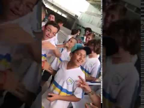 FC Barcelona star Luis Suarez shocks young Uruguay fans on Nou Camp tour