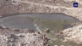 بلدية إربد تُغلق مناهل صرف صحي رئيسية في خربة قاسم