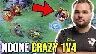 NOONE Shadow Fiend Crazy 1v4 - Right Click Build One Man Show