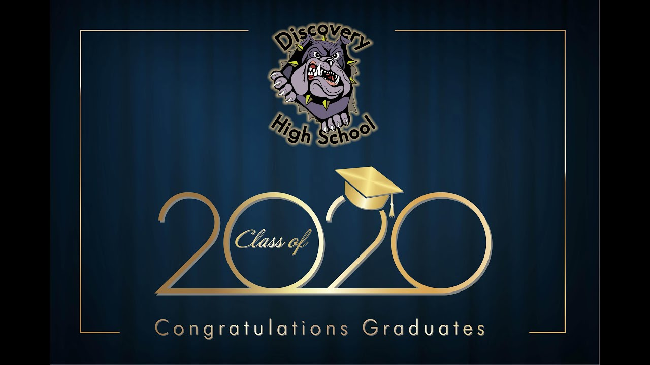 Natomas USD: Discovery High School 2020 Graduation