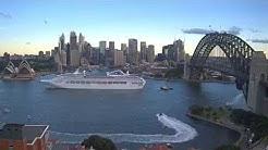 Pacific Jewel departing Sydney Harbour