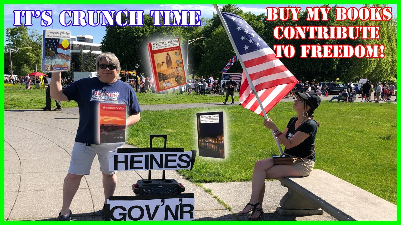 Don't Donate, Educate! Fundraising Drive for Governor Candidate Matthew Heines