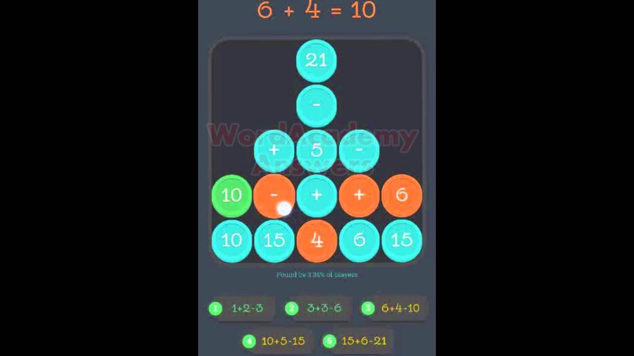 Math Academy ((((1+2)+3)+4)+5) Answers - YouTube