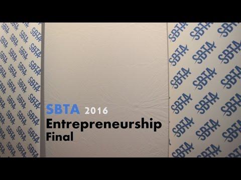 SBTA 2016 Entrepreneurship Final