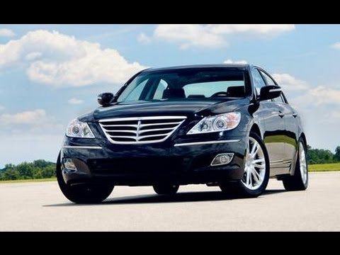 2009 Hyundai Genesis Sedan CAR and DRIVER