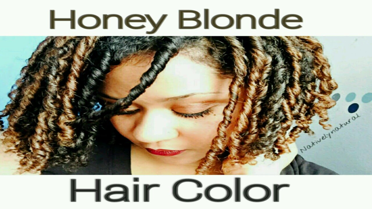 Clairol Textures And Tones Honey Blonde Hair Color Review On Natural