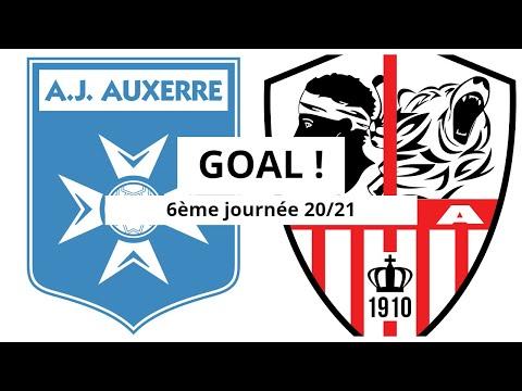 Auxerre AC Ajaccio Goals And Highlights