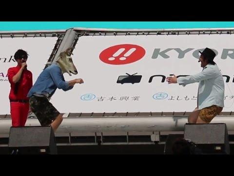 """バンビーノ、まさかの""""ダンソンゴレライ""""を披露!「ラッスンゴレライ アレンジ王選手権」2 #Okinawa International Film Festival #Lassen Gorelai"""