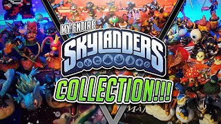 My Entire Skylanders Collection from ALL SIX GAMES!!! | Mikeinoid