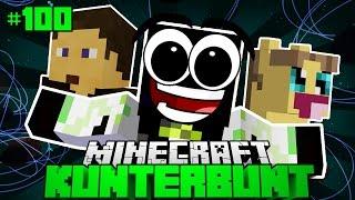JETZT GEHT ES RUND?! - Minecraft Kunterbunt #100 [Deutsch/HD]