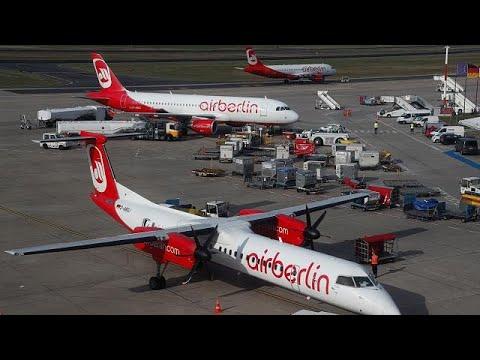 Air Berlin cancels 100 flights after pilots call in sick