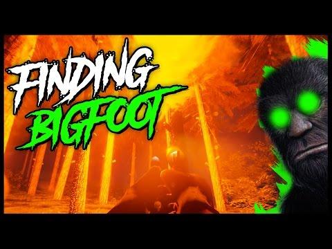 Finding Bigfoot - BIGFOOT CAUGHT IN MY TRAP! - Multiplayer Gameplay Bigfoot Hunting