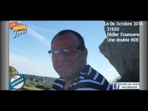 Au-delà des mots - Double nde emi avec Didier Steasen - 06 10 2016