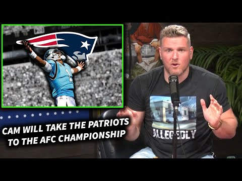 Pat McAfee 'Cam Newton Will Take The Pats To The AFC Championship'