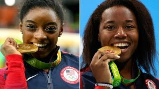 two simones strike gold at olympics