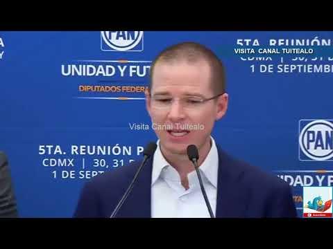 'Estoy dispuesto a dar la cara' Ricardo Anaya le responde a Osorio Chong Video