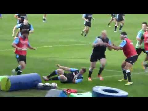 glasgow warriors training session
