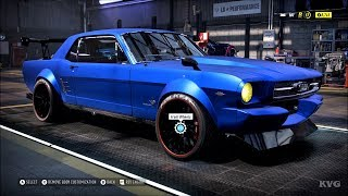 Need for Speed Heat - Ford Mustang 1965 - Customize | Tuning Car (PC HD) [1080p60FPS]