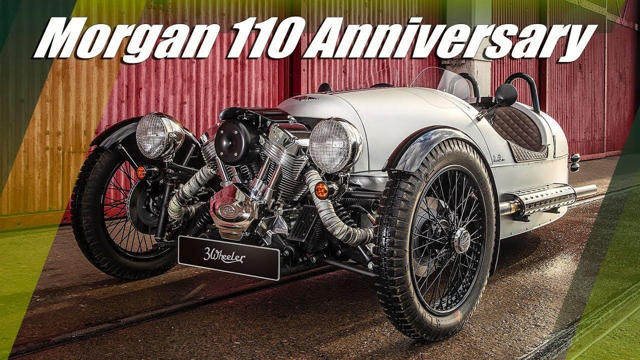 2019 Morgan 3 Wheeler, Plus 4 & Roadster 110 Anniversary Editions