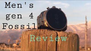 Men's Gen 4 Explorist FOSSIL smartwatch REVIEW