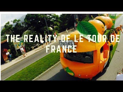 la caravane du tour -  the reality of le tour de France event 2017