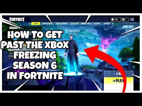HOW TO GET ON XBOX FORTNITE WITH THE LOADING SCREEN CRASH/FREEZE!! 100% WORKS!!