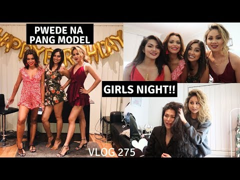 GIRLS NIGHT MGA ILONGGA SA AUSTRALIA!! KADRAMAHAN (family +