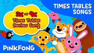 2x~9x Times Tables Review Song | Times Tables Songs | PINKFONG Songs for Children