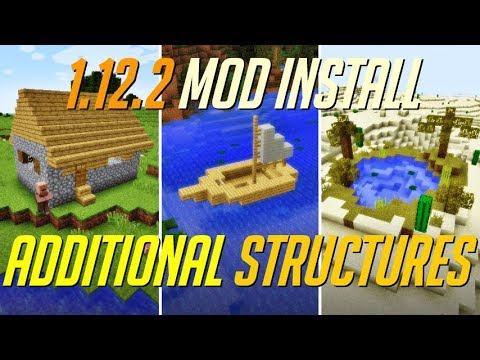 Additional Structures Mod 1 12 2 Minecraft How To Download And Install Additional Structures