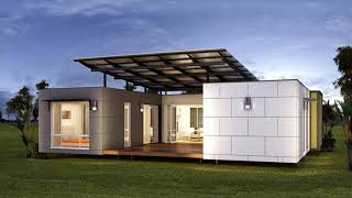 Classic Modern Stylish Glass House Design