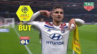 But Houssem AOUAR (45') / Olympique Lyonnais - Girondins de Bordeaux (1-1)  (OL-GdB)/ 2018-19
